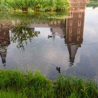 Отражение замка Хунсбрук, Голландия :: Witalij Loewin