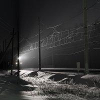 Поезд в ночи :: Юрий Бичеров