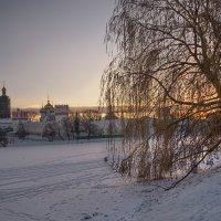 Зимний вечер в Новодевичьем :: Владимир Макаров