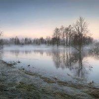 Разлив реки в весеннем сне.. :: Александр Бархатов
