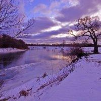 Зимний день на реке :: Дубовцев Евгений