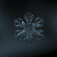 Снежинка на стекле :: Алексей Строганов