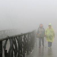Прогулка в облаках. :: Николай Карандашев