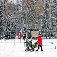 Зимние городские зарисовки. :: Валентина ツ ღ✿ღ