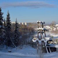 Пейзаж с трансформаторной будкой. :: Наталья