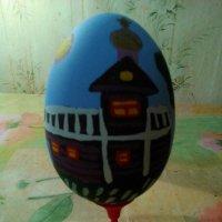 Моя авторская работа (роспись по дереву темперой). :: Светлана Калмыкова