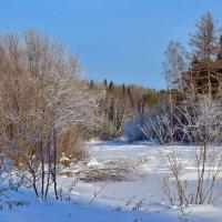 Река зимой. :: Наталья