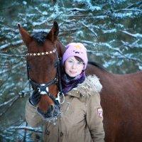 Дарья и Ланграф Браун :: Кристина Щукина