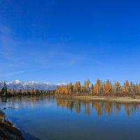 Осень в Тункинской долине. :: Александр Кобзев