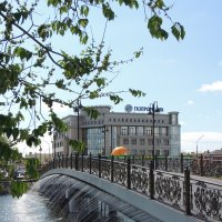 Мост дружбы в Астрахани :: Евгения Чередниченко