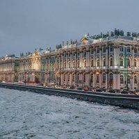 Нева во льдах :: Андрей Липов