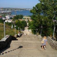 Лестница на Митридат :: Александр Рыжов