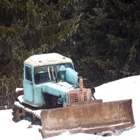 Старый трактор :: KALIOT