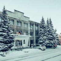 Заснеженный город :: Вячеслав Баширов