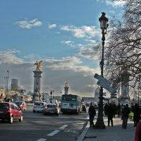 Прогулки  по  Парижу. Час  пик . :: Виталий Селиванов