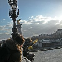 Прогулки  по Парижу .Как бы  по ловчее  снять ? :: Виталий Селиванов