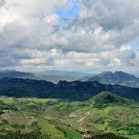 Горы в облаках :: Мария