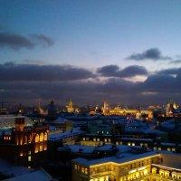 Предновогодняя красавица Москва :: Татьяна Колганова
