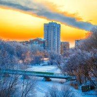 зима в гоороде :: Наталья Новикова