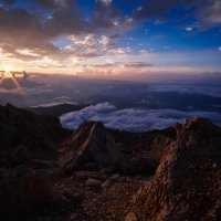 Закат в горах :: Анзор Агамирзоев