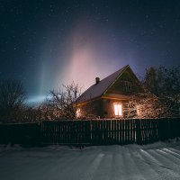 Сияние ночи :: Татьяна Афиногенова