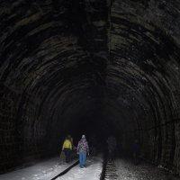 Уходящие в туннель :: Нина