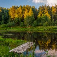 Вечер на Луговом озере :: Александр Березуцкий (nevant60)