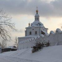 надвратная церковь :: Виктор Филиппов