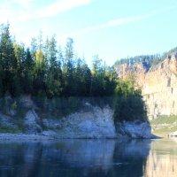 Дальше река сужается, поэтому разворачиваемся :: Таня Фиалка