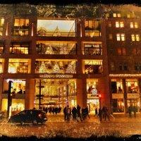 Вечерний Гамбург перед Рождеством (серия). Europa Passage :: Nina Yudicheva