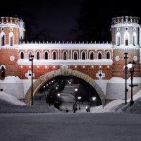 Парк Царицыно. Фигурный мост. 1776-1778 г г. :: Валерий Князькин
