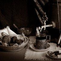 Вечернее  чаепитие. :: Валерия  Полещикова