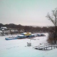 Пристань зимой :: Tarka