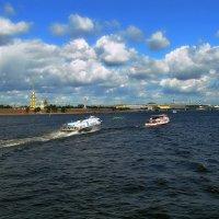 Санкт-Петербург. Река Нева. :: Владимир Ильич Батарин