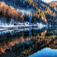 Рица зимой. :: Александр Криулин