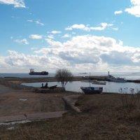 Небо, море, корабли... :: Регина Пупач