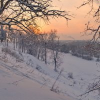 Зимние зарисовки в Лихушино... :: Вадим Телегин