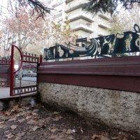 Музыкальный забор :: Наталья Джикидзе (Берёзина)
