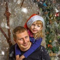 Папа с дочей :: Андрей Володин