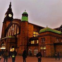Центральный вокзал :: Nina Yudicheva