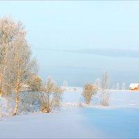 Картинка зимняя, деревенская... :: Александр Никитинский