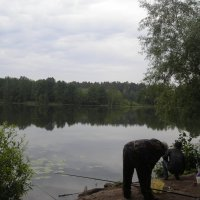 Рыбаки на Раифском озере :: марина ковшова