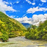 Горная река :: Виктор Заморков