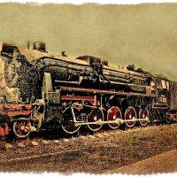 Паровоз из прошлого.... :: Андрей Головкин