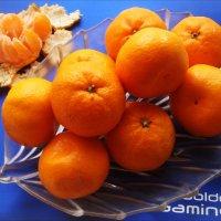 Мои любимые мандарины :: Нина Корешкова