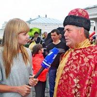 Аллочка на Дне Лука в Лухе Ивановской области :: Елена Малкова