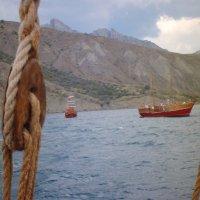 Отдых на море, Крым. Морская прогулка на Карадаг-15. :: Руслан Грицунь