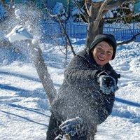 В снежки :: santamoroz
