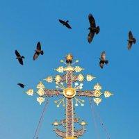 крест и птицы :: Елена Малкова