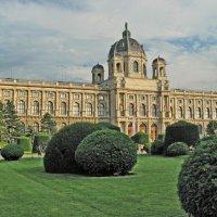 Музей истории искусств на площади Марии-Терезии. :: Олег Попков